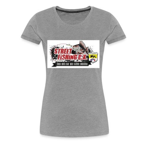 StreetFishing DK - T-shirt Premium Femme