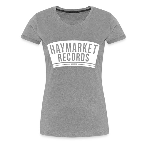 haymarketWHITE - Vrouwen Premium T-shirt