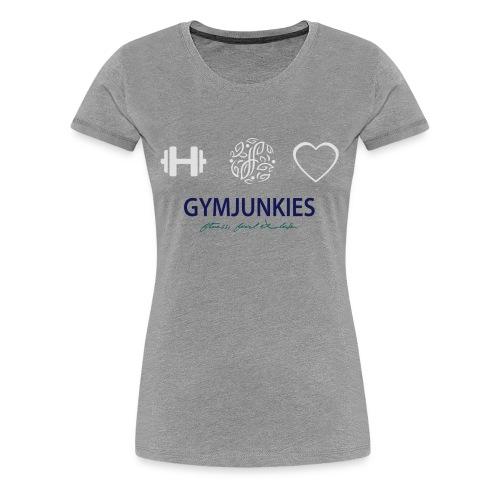 Gymjunkies Hoody Women - Vrouwen Premium T-shirt