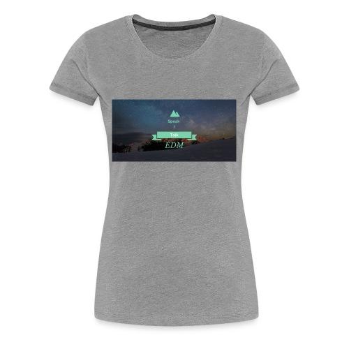 Speak Brand Logo - Women's Premium T-Shirt