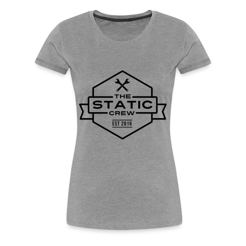 The Static Crew - Frauen Premium T-Shirt