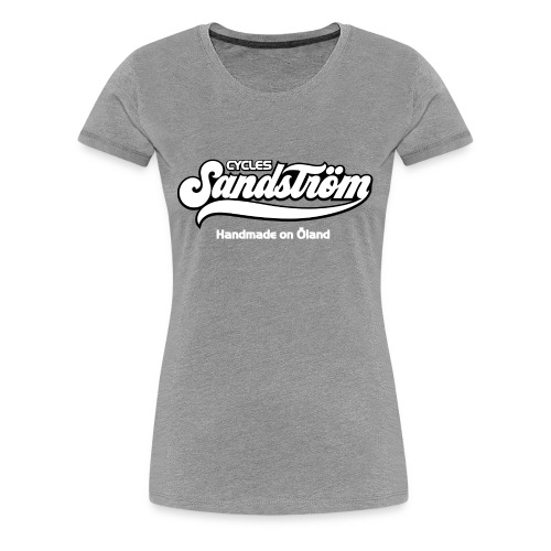 Sandstrom Bicycles black shirt - Women's Premium T-Shirt