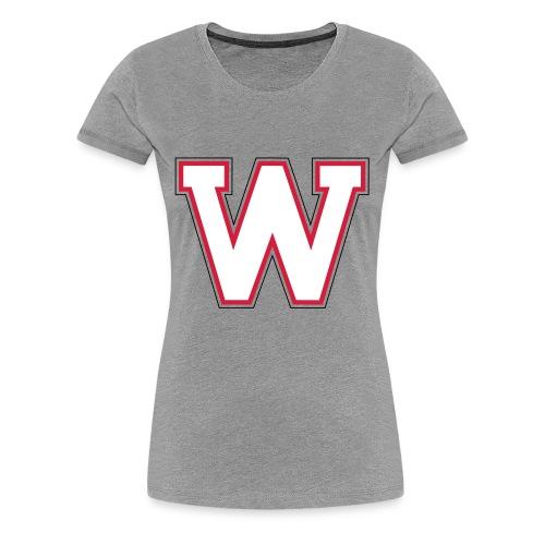 W-badge - T-shirt Premium Femme