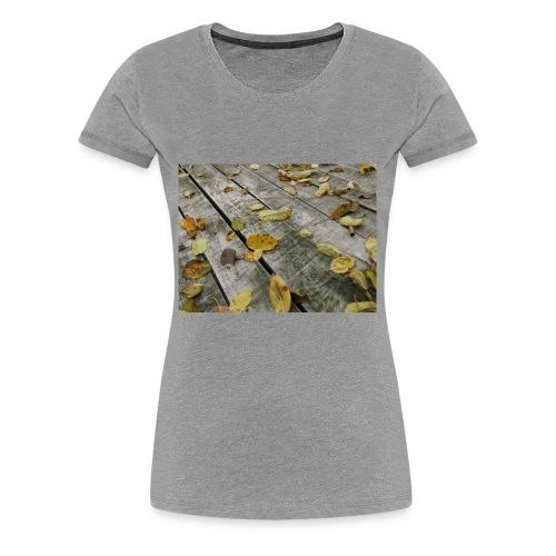 Herbstblätter - Frauen Premium T-Shirt
