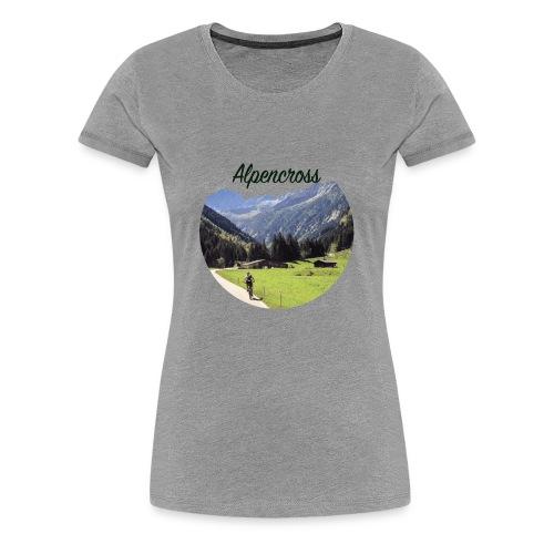 Alpencross - Frauen Premium T-Shirt