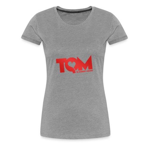 TQM- cappellino - Maglietta Premium da donna