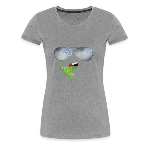 Ulækker kran - Dame premium T-shirt