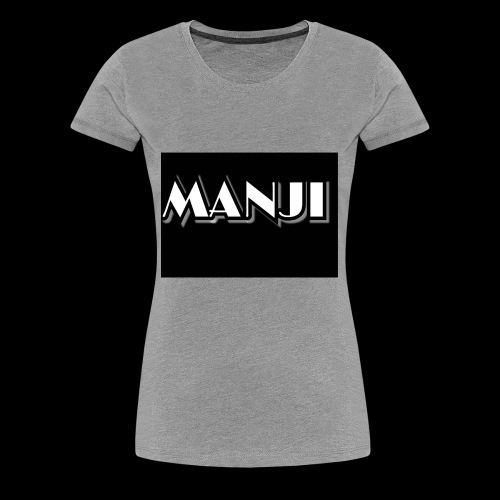 MANJI Schrift - Frauen Premium T-Shirt