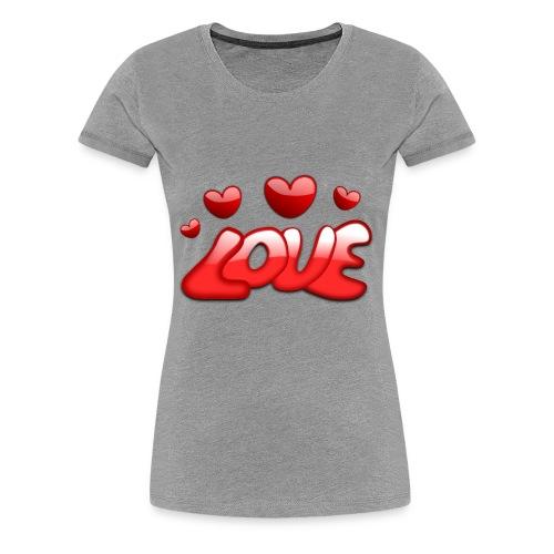 love 150277 1280 - Frauen Premium T-Shirt