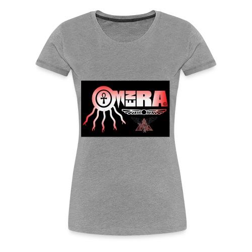 OMEN RA RED AND BLACK LOGO - Women's Premium T-Shirt