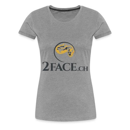 2face.ch - Frauen Premium T-Shirt