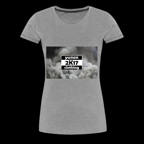 Yunan clothing 2K17 - Frauen Premium T-Shirt