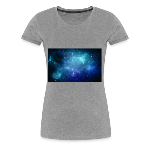 Blue galaxy wallpaper 31677 - Premium-T-shirt dam