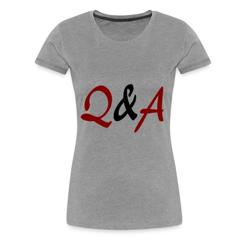 Q A - Frauen Premium T-Shirt