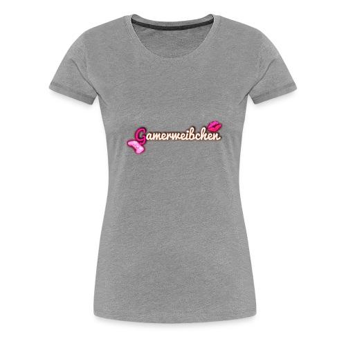 Gamerweibchen LOGO - Frauen Premium T-Shirt
