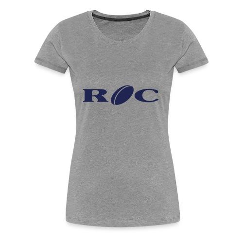 ROC-bleu - T-shirt Premium Femme