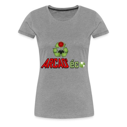 Arcad'eco - T-shirt Premium Femme