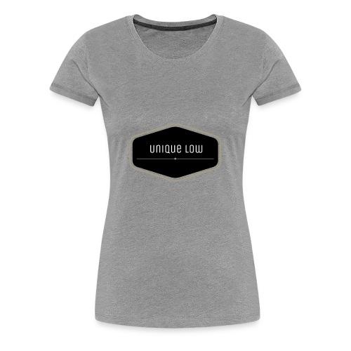 Unique Low - Frauen Premium T-Shirt
