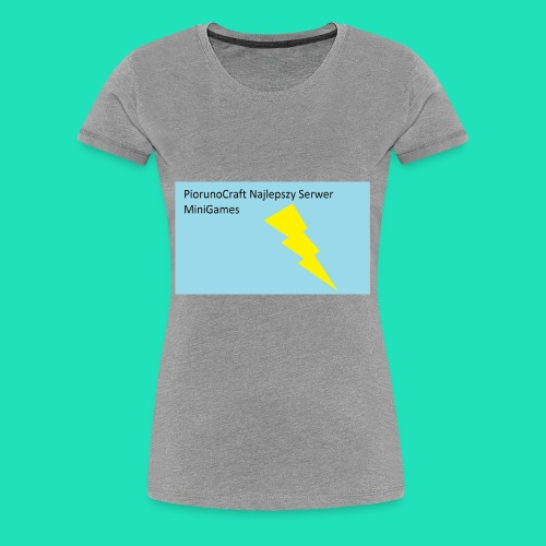 Koszulka Dla Dzieci PiorunoCraft - Koszulka damska Premium