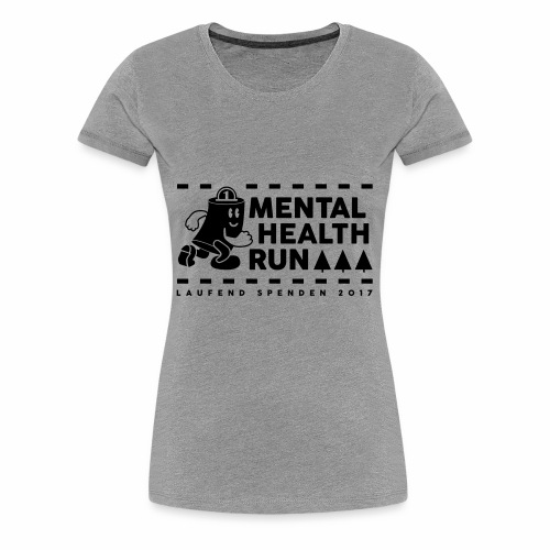 mental healt run - Frauen Premium T-Shirt