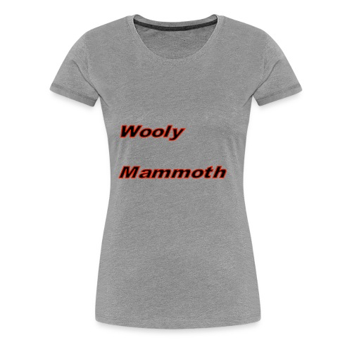 Wooly Mammoth - Women's Premium T-Shirt