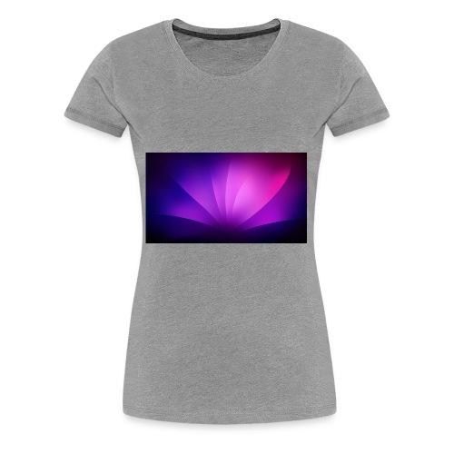Der Gamer King lol ä - Frauen Premium T-Shirt