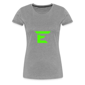 E for Emerald - Women's Premium T-Shirt