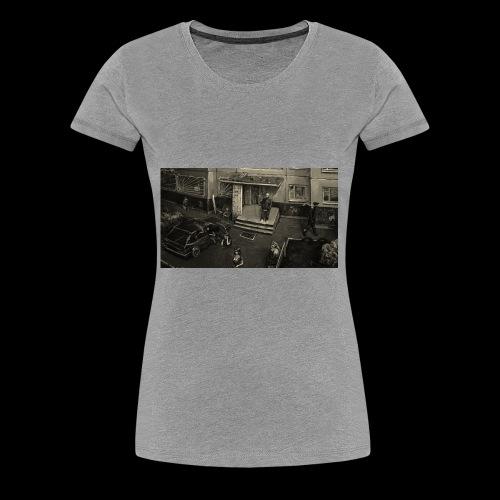 BLOCK HOODIE - Frauen Premium T-Shirt