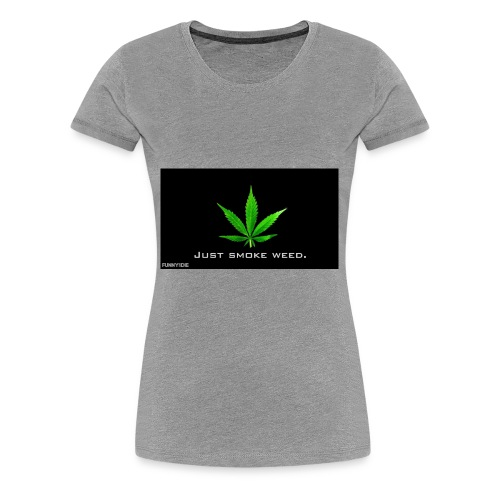 Hash medicin - Dame premium T-shirt