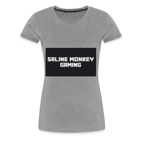 Saline monkey gaming tröja - Premium-T-shirt dam