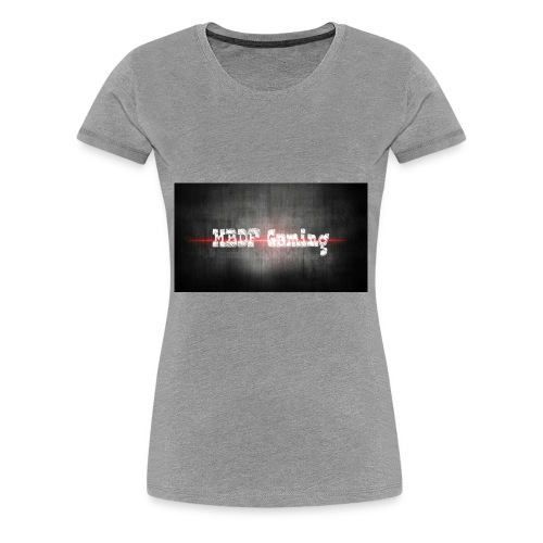 banner_mbdf_gaming_echt - Vrouwen Premium T-shirt