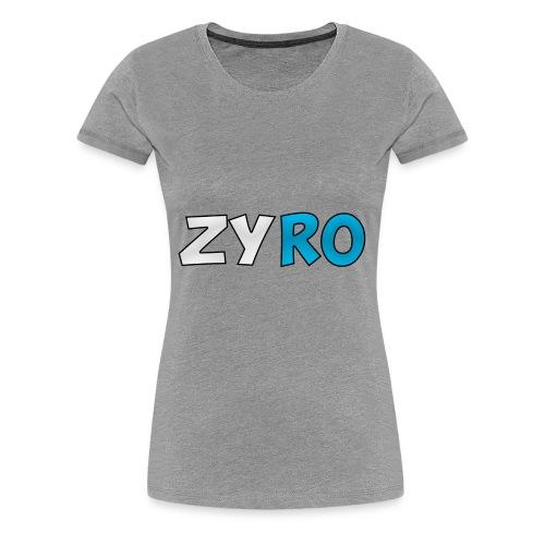 Zyro 1 - Women's Premium T-Shirt