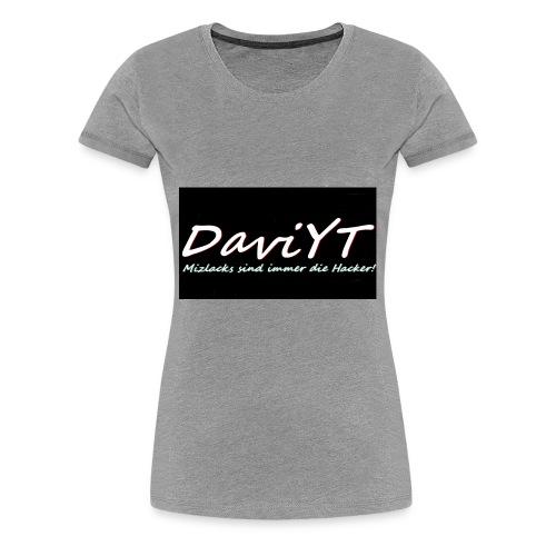 DaviYT Merch - Frauen Premium T-Shirt