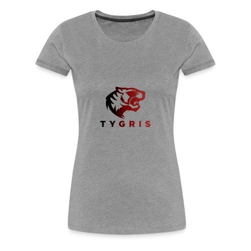 TYGRIS E-SPORT - T-shirt Premium Femme
