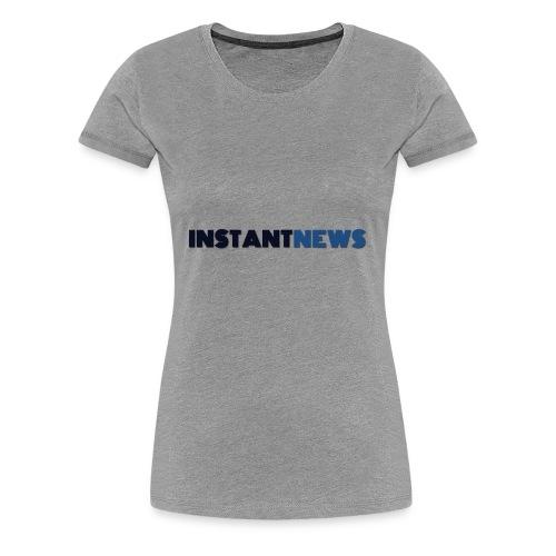 instantnews - Maglietta Premium da donna