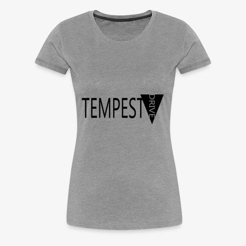 Tempest Drive: Full Logo - Dame premium T-shirt