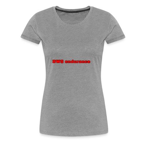 DWS RED - Women's Premium T-Shirt