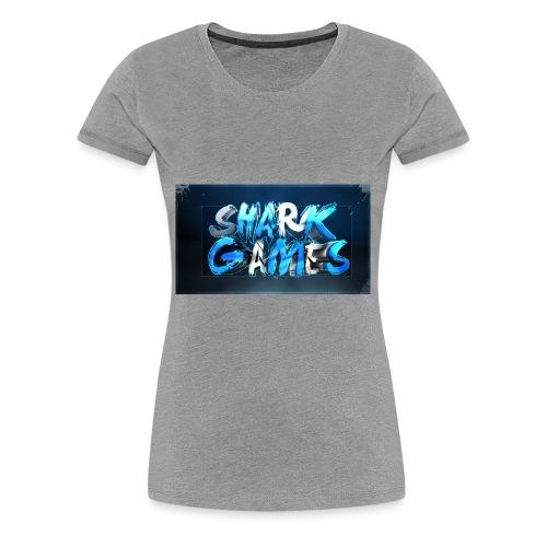 SharkGames - Maglietta Premium da donna