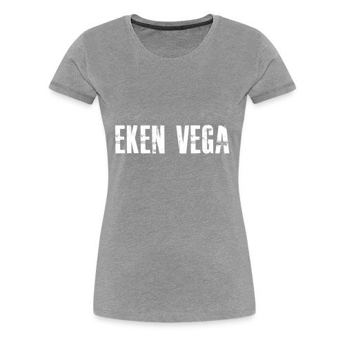 Eken Vega, t-skjorte med hvitt motiv - Premium T-skjorte for kvinner