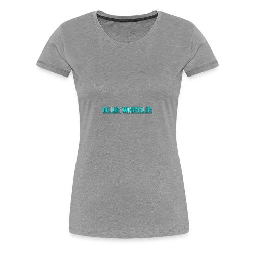 BlueWheelie S6 Case - Women's Premium T-Shirt