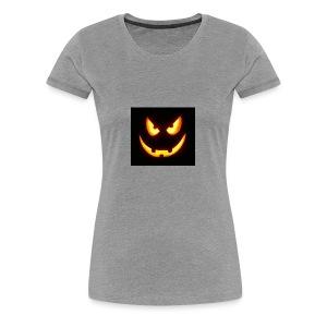 Pumkin scary - Frauen Premium T-Shirt