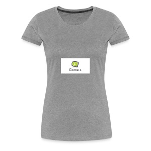 Game x - Frauen Premium T-Shirt
