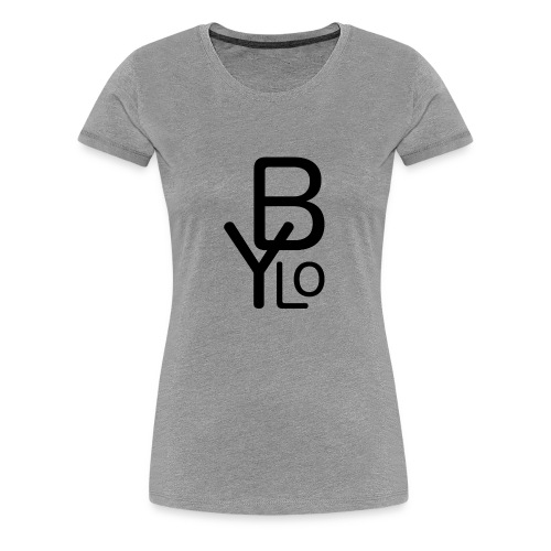 Bylo Logo - Frauen Premium T-Shirt