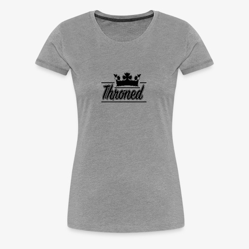 Throned Logo - Women's Premium T-Shirt