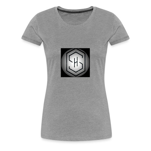It's a s.h clothing brand which includes t shirts - Women's Premium T-Shirt