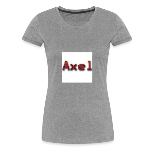 Retro Pixel Logo - Vrouwen Premium T-shirt