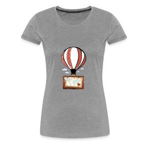 CUORE VIAGGIATORE Gadget per chi ama viaggiare - Maglietta Premium da donna