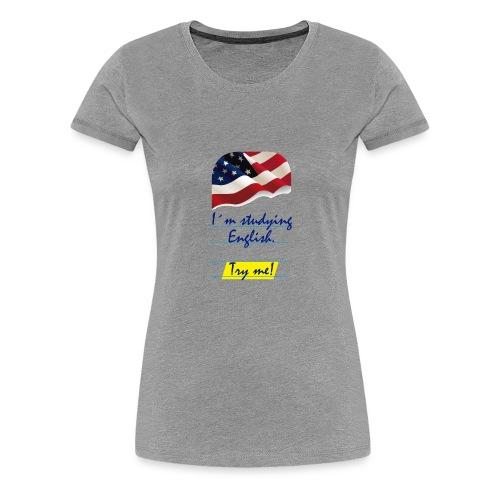 Base Try me 0 04 - Camiseta premium mujer