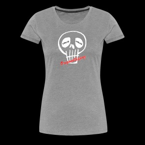 Originallippaz_Skull - Frauen Premium T-Shirt