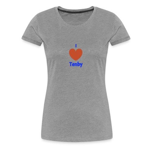 I love Tenby - Women's Premium T-Shirt